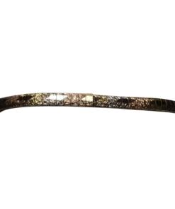 Tri-Color Gold Omega Bracelet outline